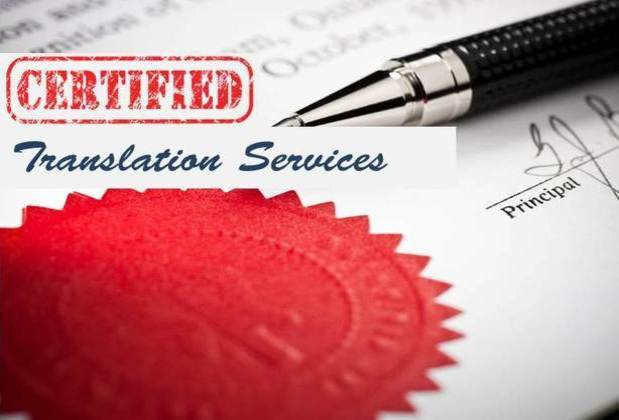 Certified Translation Service Visa documents Certificate Personal documents